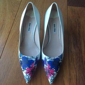 Miu miu shoes size 37.5